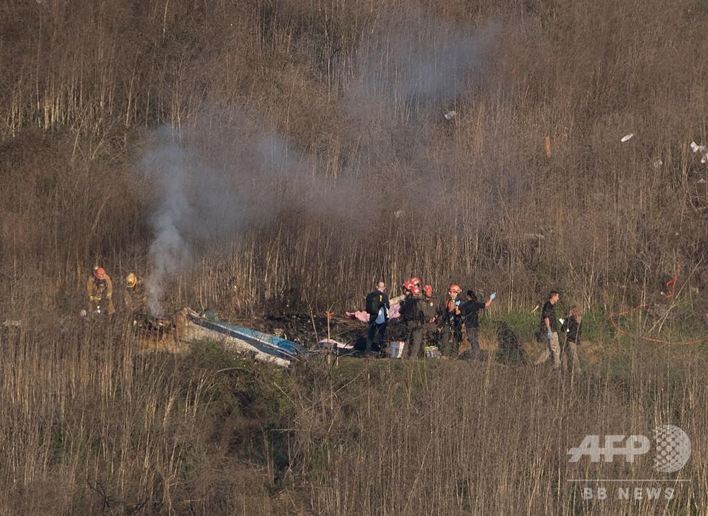 ブライアント氏犠牲のヘリ事故、他遺族もヘリ会社を提訴