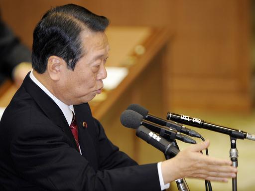 麻生首相と小沢代表が初の党首討論