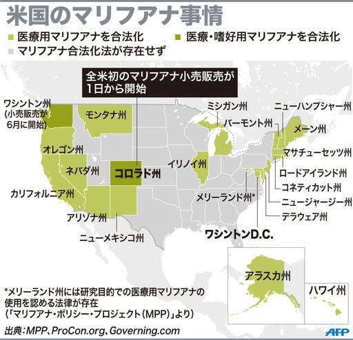 【図解】米国のマリフアナ事情