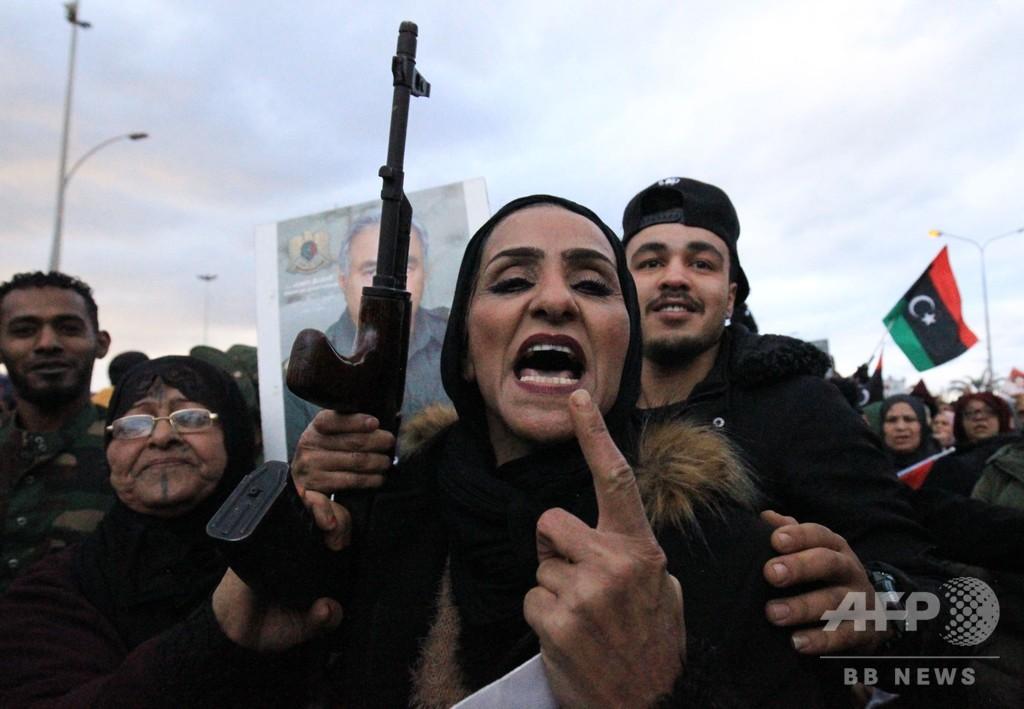 リビア東部勢力指導者、全国民に「武装」呼び掛け トルコ派兵承認受け