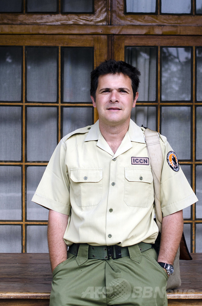 コンゴ国立公園所長が胸撃たれ重傷、待ち伏せ攻撃か