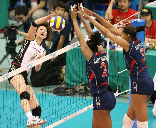 日本 4敗目を喫し今大会での北京五輪出場権獲得を逃す