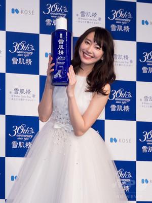 「雪肌精」30周年記念、新CMに新垣結衣を起用
