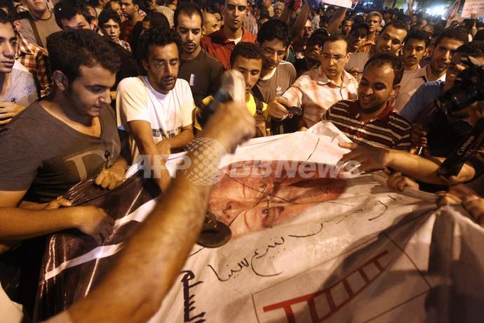 エジプト大統領選、モルシ氏とシャフィク氏が決選投票に