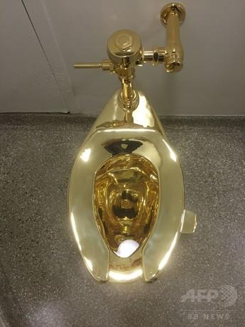 ゴッホではなく純金のトイレをホワイトハウスに…グッゲンハイム美術館