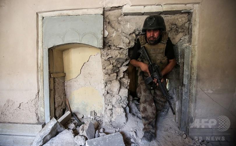 イラク軍幹部、モスル奪還は「数日以内」の見通し