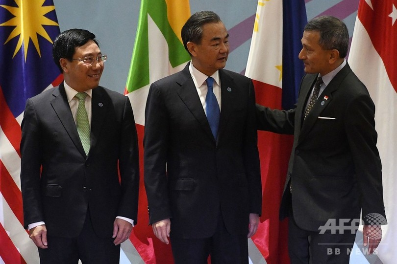 中国、南シナ海でのASEAN合同演習を提案 米国は除外