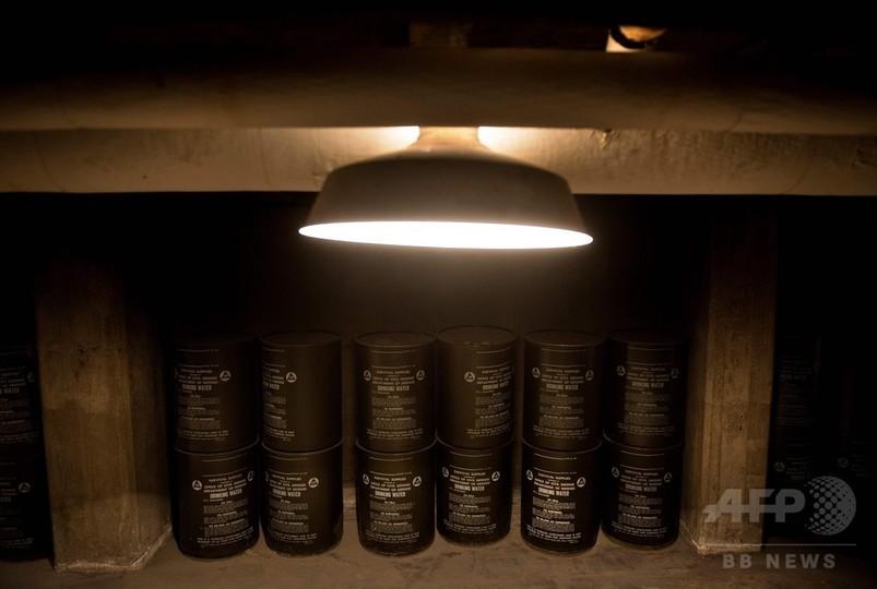 冷戦時代の遺物、核シェルターが今もひっそり学校の地下に 米首都