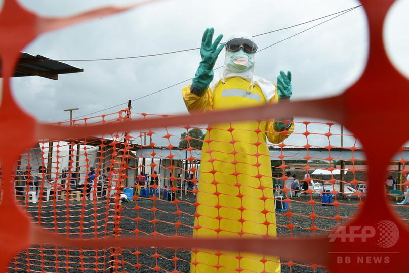 エボラ出血熱による死者、2811人に WHO