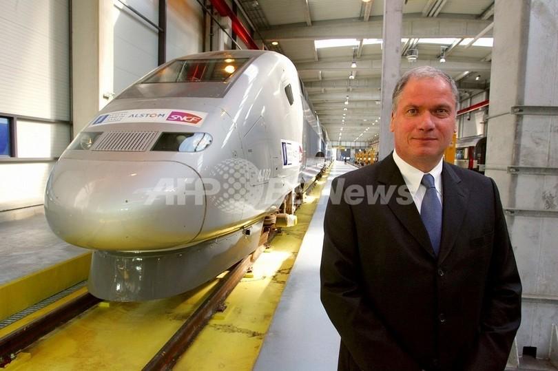 仏アルストム系CEO、中国製鉄道車両の不買を呼び掛け