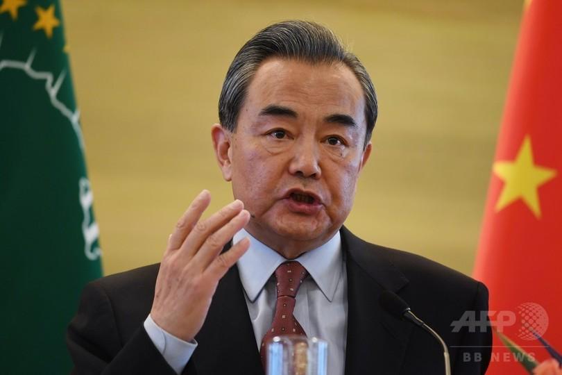 「貿易戦争は間違った処方箋」、中国外相 米の追加関税をけん制