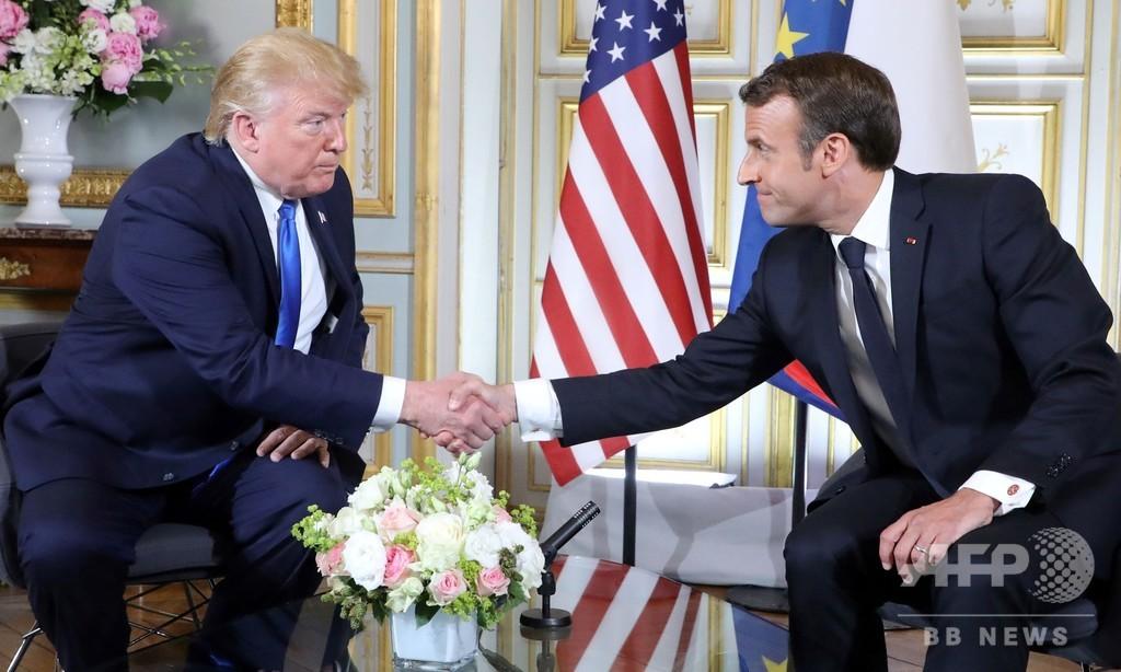 トランプ氏、イランが対話望むなら「結構なこと」