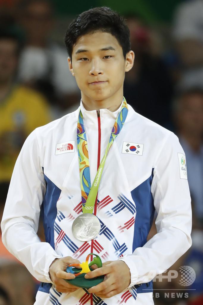 五輪銀の韓国柔道選手、兵役免除の書類偽造 GS大阪出場禁止に