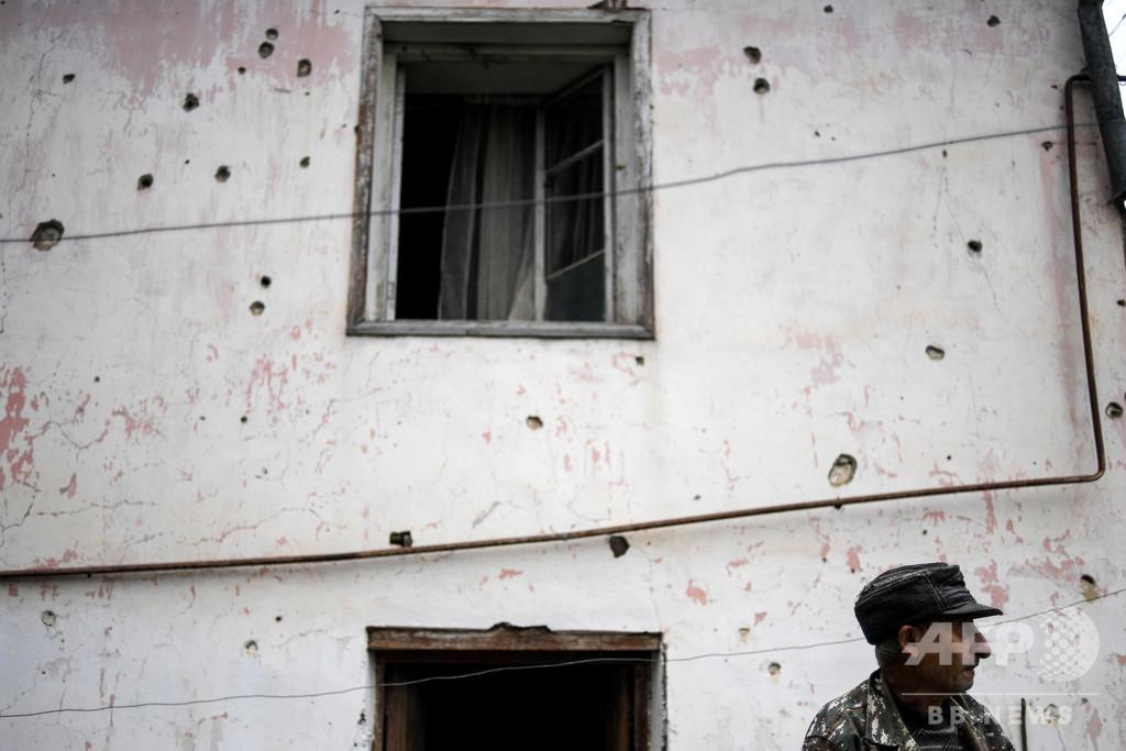 アルメニア・アゼル紛争「イスラム過激派が参加」 仏大統領