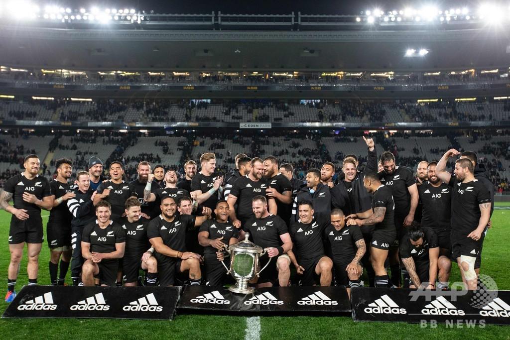 NZが豪に36-0で完勝、ライバルへ強烈なメッセージ