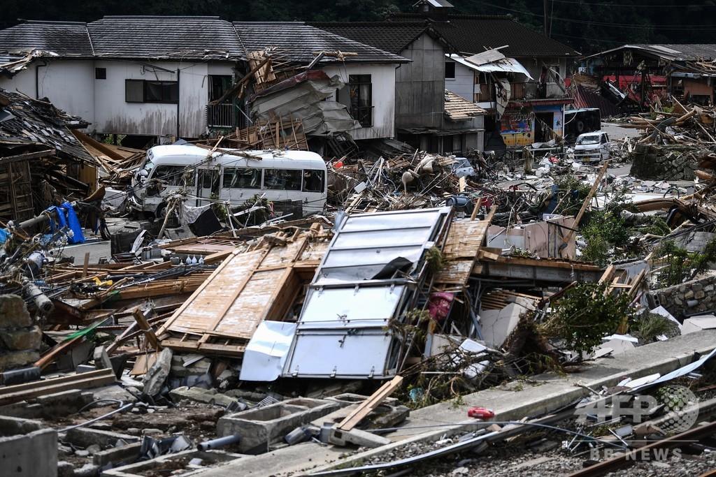 九州豪雨、死者55人に