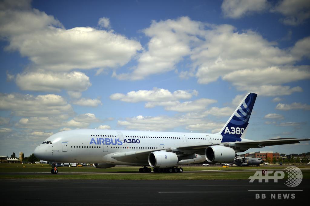 エアバス、超大型機A380の生産打ち切り発表