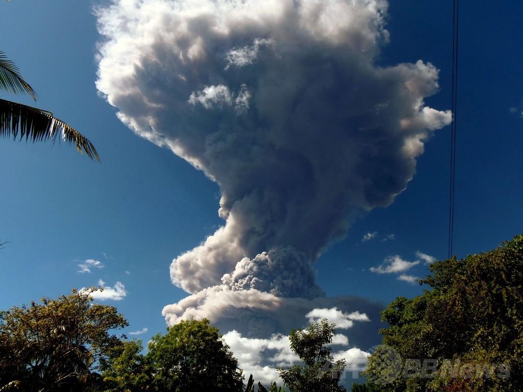 エルサルバドルで火山噴火、周辺住民に警戒呼びかけ