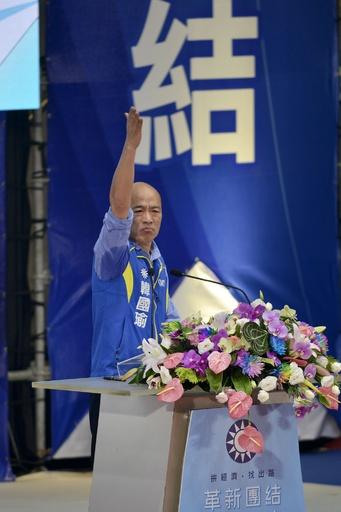 親中派の韓国瑜候補、台湾総統選は「スリリングな戦いになる」