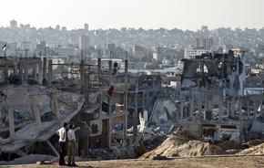 ガザの死者、2000人超える パレスチナ発表