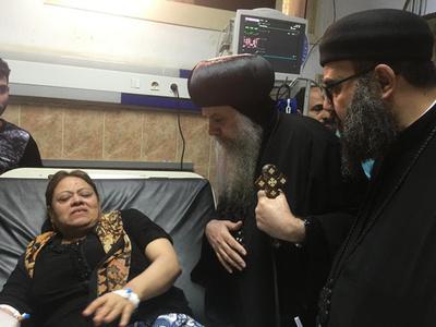コプト教徒のバス襲撃、7人死亡 ISが犯行声明 エジプト