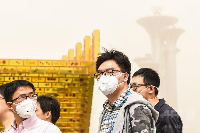 北京で「砂じん・強風青色警報」 瞬間風速14~17メートル