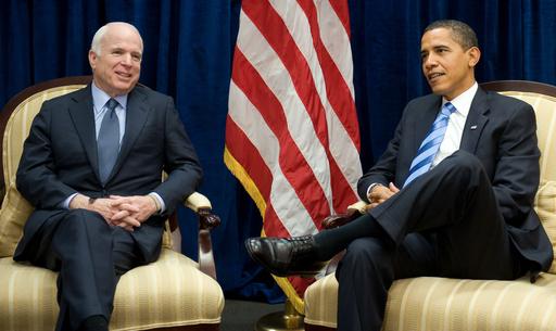 オバマ次期米大統領とマケイン氏が会談、「改革の新時代」誓う
