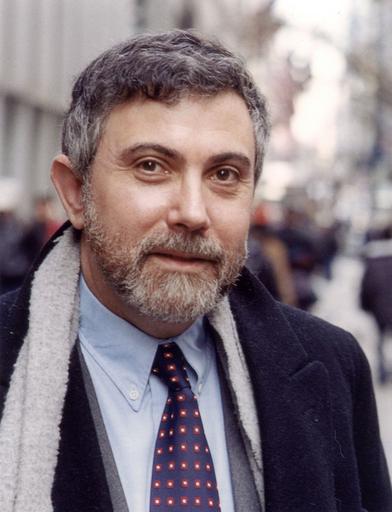 ポール・クルーグマン氏にノーベル経済学賞