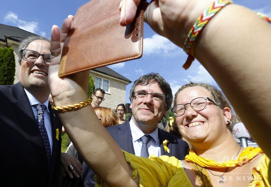 カタルーニャ自治州前首相、ベルギーを拠点に独立運動継続