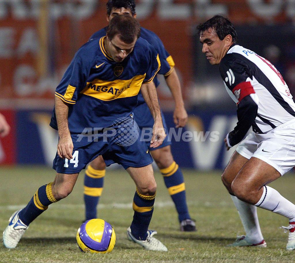 ボカ・ジュニアーズ 07リベルタドーレス杯南米選手権・準決勝進出を決める