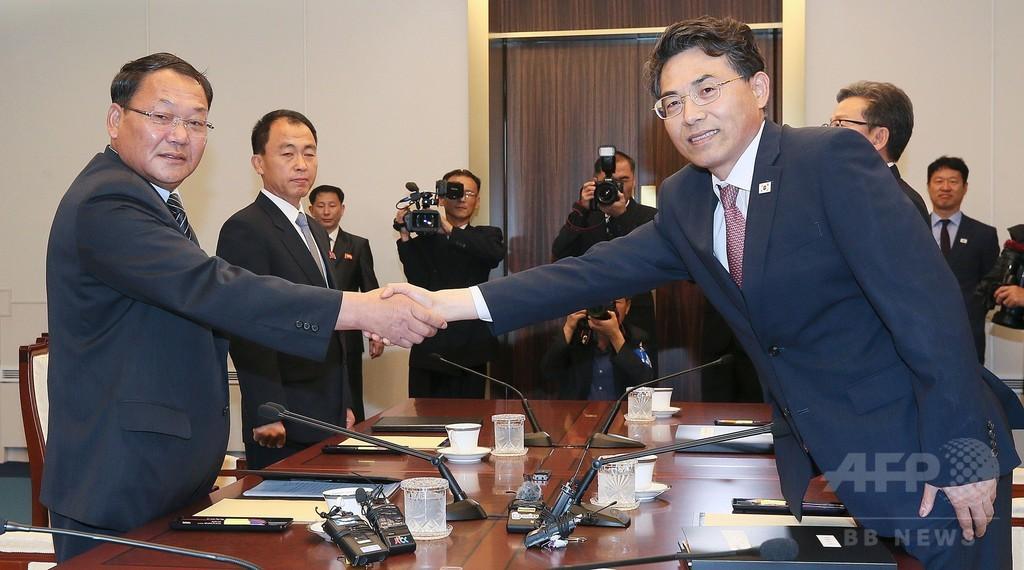 北朝鮮と韓国、10年ぶりに南北鉄道の連結を協議