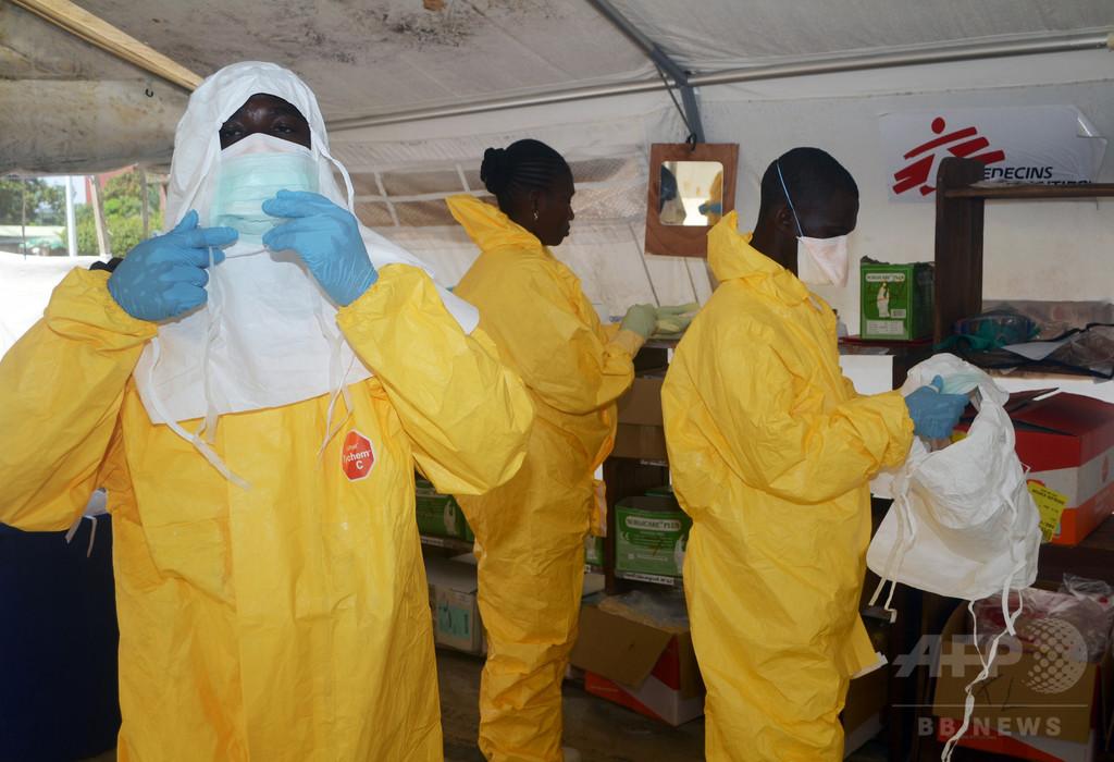 エボラ出血熱、製薬各社が薬剤開発に全力