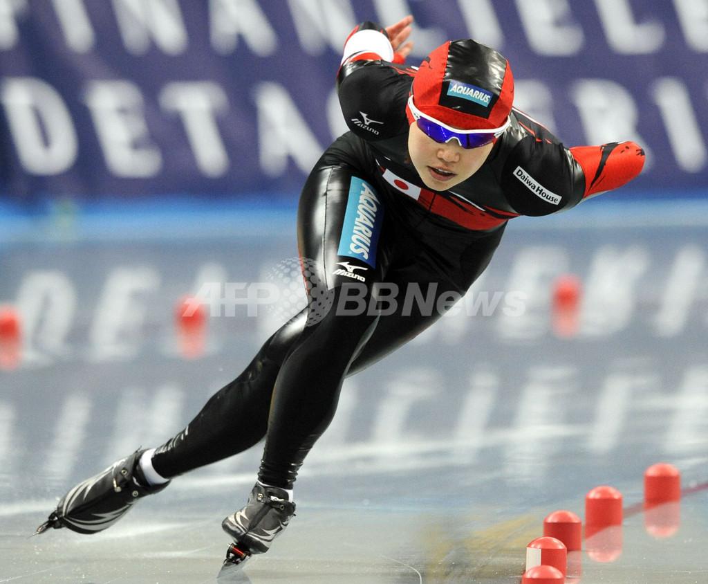 吉井 女子500メートルで5位に