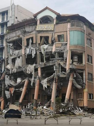 フィリピン南部でまた強い地震 建物倒壊、死傷者も