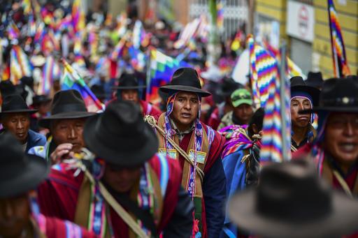 ボリビア暫定大統領、次期選挙にモラレス氏の出馬ないと言明