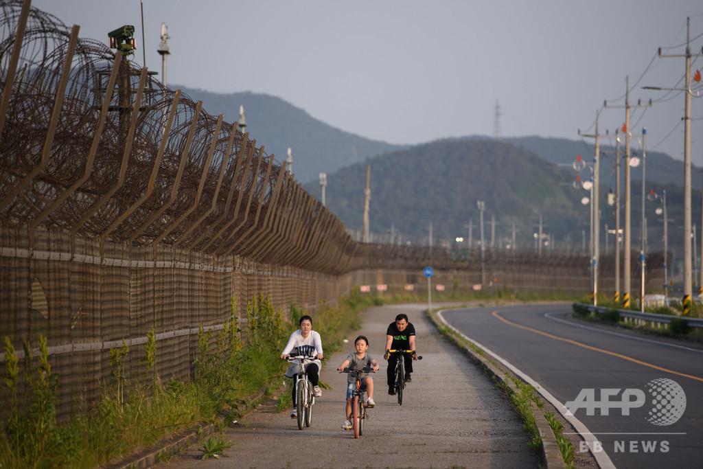 党本部建物や別荘、墓地…非武装地帯周辺に残る朝鮮戦争の遺物