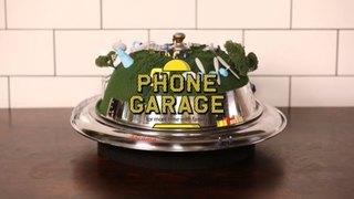 """食事中に楽しくスマホを預けておく倉庫""""PHONE GARAGE""""を開発"""