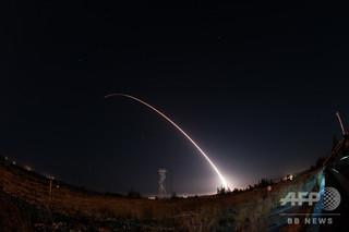 米ICBM発射実験で異常発生、実験打ち切り 太平洋上で自爆