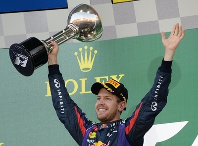 ベッテルが日本GP優勝!総合優勝は持ち越しに