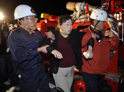 岩手・宮城内陸地震、死者6人、負傷者100人以上