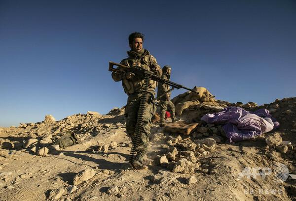 IS、最後の拠点を攻撃するクルド民兵組織への「復讐」呼び掛け