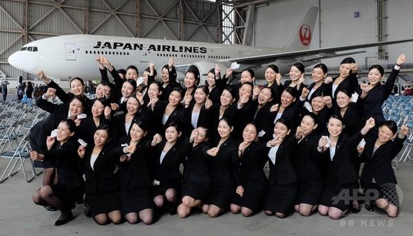 JALグループが入社式、新人客室乗務員ら1000人超が出席