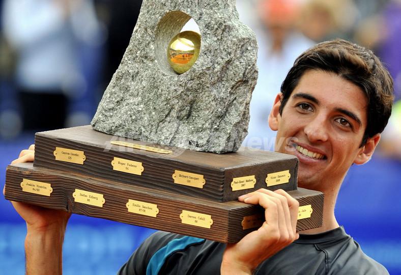 ベルッチ ベックを下しツアー初優勝、アリアンツ・スイス・オープン