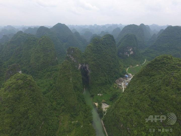 森林率が68%に回復 広西・羅城