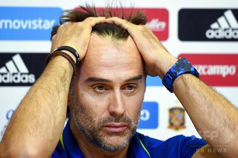 スペイン代表に激震、W杯開幕前日にロペテギ監督解任 後任はイエロ氏