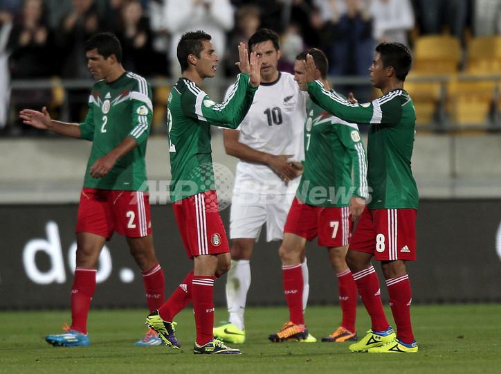 メキシコがニュージーランド退け本大会出場、W杯大陸間プレーオフ