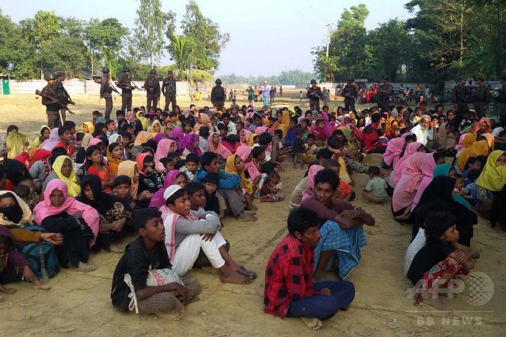 ミャンマーからロヒンギャ5万人流入、バングラデシュ「深い懸念」