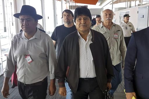 メキシコに逃れたボリビアのモラレス前大統領、アルゼンチンに再亡命