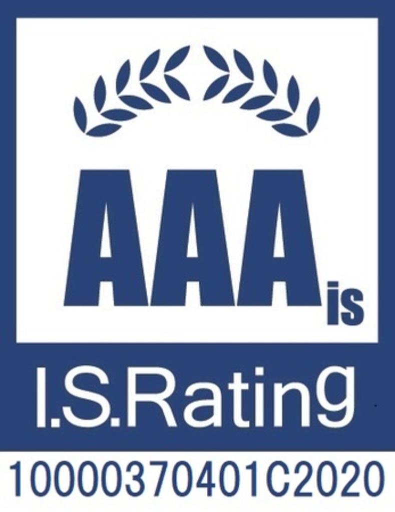 日本初 米国セキュリティー基準「NIST SP800-171」への準拠性を示す情報セキュリティー格付けにて最高評価「AAAis」を取得