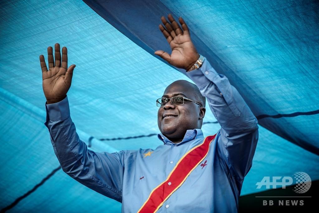 コンゴ大統領選、野党候補勝利 18年ぶり政権交代へ